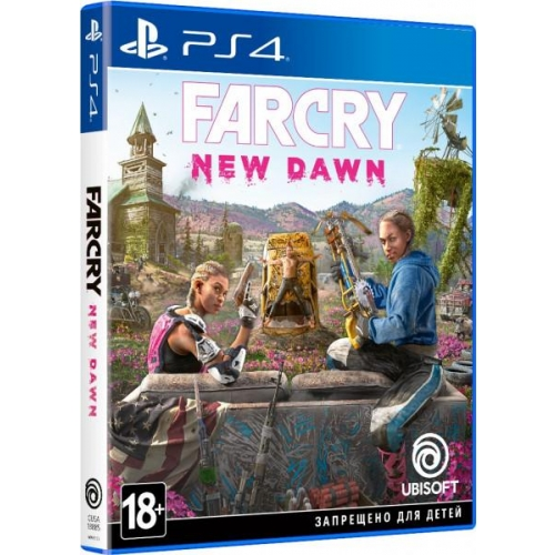 Игра для Sony PS4 Far Cry. New Dawn, русская версия