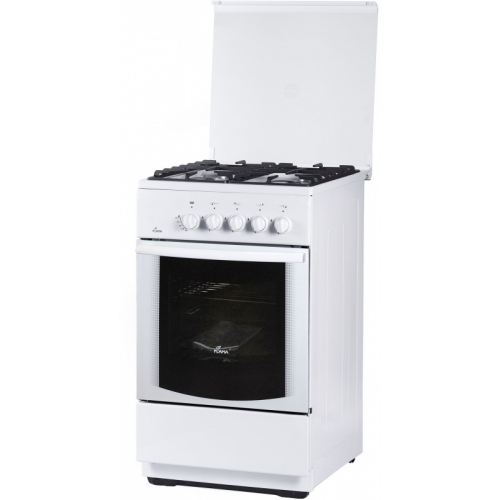 Газовая плита FLAMA FG 24022 W белый фото