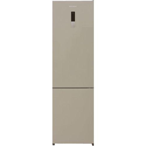Холодильник Shivaki BMR-2019DNFBE бежевый фото