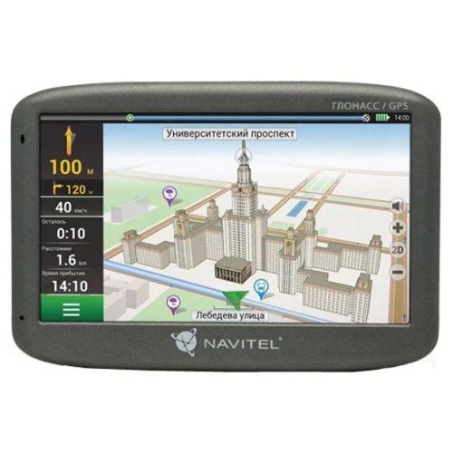 GPS-навигатор Navitel G500 серый серого цвета