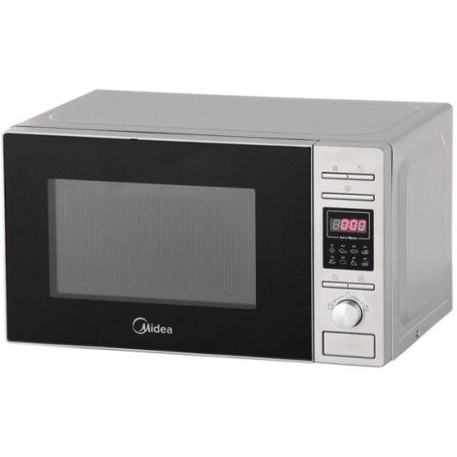 Микроволновая печь Midea AG820CP2-S серебристый фото