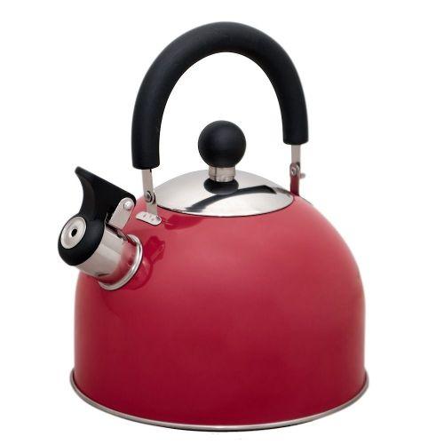 Чайник на плиту Катунь Кухня КТ-120R малиновый фото