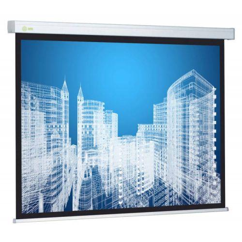 Проекционный экран Cactus Wallscreen CS-PSW-187x332 белый белого цвета