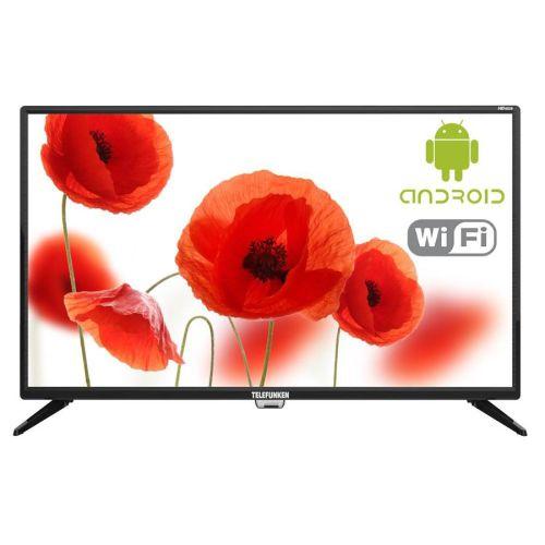 Телевизор Telefunken TF-LED32S86T2S чёрный черного цвета