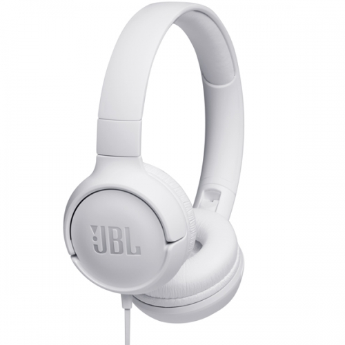 Проводные наушники JBL Tune 500 белый фото