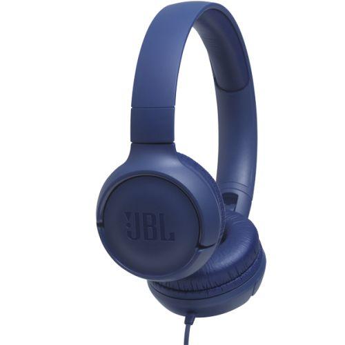 Проводные наушники JBL Tune 500 синий фото