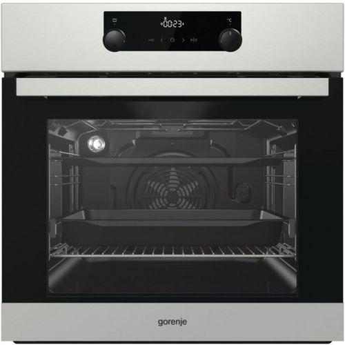 Электрический духовой шкаф Gorenje BO735E20X-2 серебристый фото