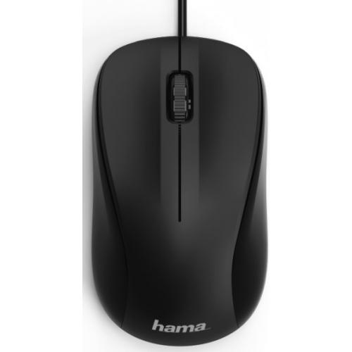 Мышь проводная HAMA MC-300 чёрный черного цвета