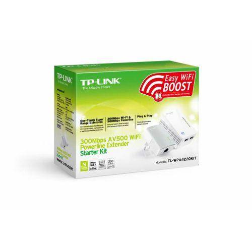 Wi-Fi+Powerline адаптер TP-LINK