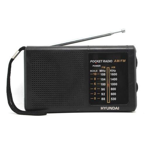 Радиоприемник Hyundai H-PSR130 чёрный фото