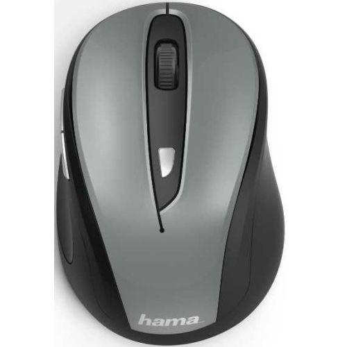 Мышь беспроводная HAMA MW-400 серый серого цвета