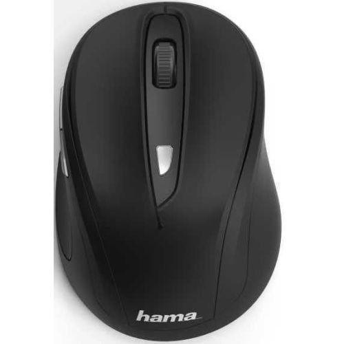 Мышь беспроводная HAMA MW-400 чёрный черного цвета