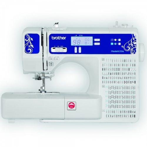 Швейная машина Brother ModerN 210e белый/синий цвет белый/синий