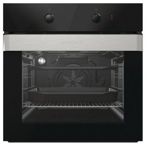 Электрический духовой шкаф Gorenje BO 717 ORAB чёрный/нержавеющая сталь фото