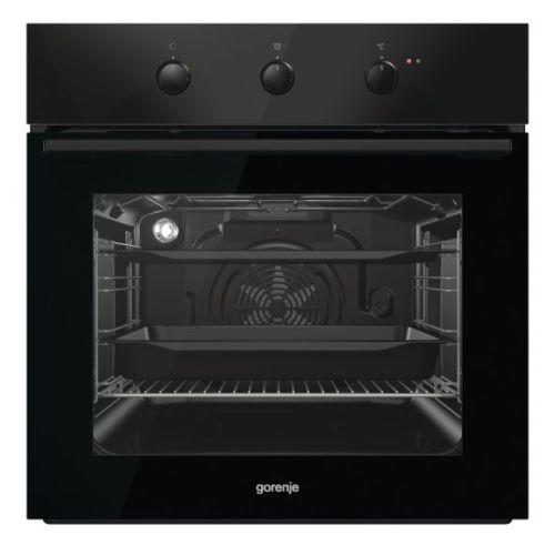 Электрический духовой шкаф Gorenje BO725E10BG чёрный черного цвета