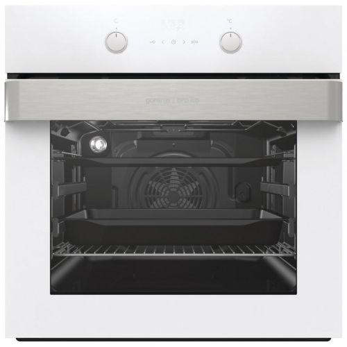Электрический духовой шкаф Gorenje BO737ORAW белый/нержавеющая сталь фото