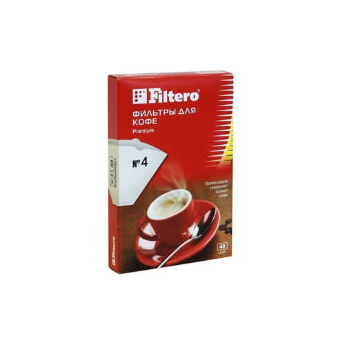 Фильтры для кофеварок Filtero №4/40 фото