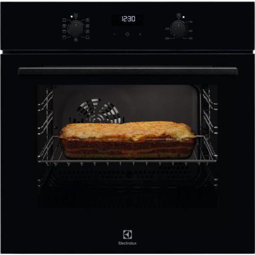 Электрический духовой шкаф Electrolux OEF5C50Z чёрный черного цвета