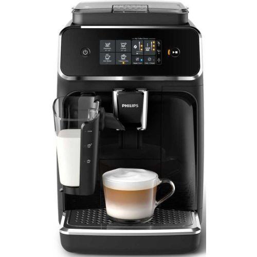 Кофемашина Philips EP2231 Series 2200 LatteGo чёрный черного цвета