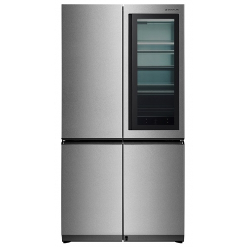 Холодильник LG LSR100RU серебристый