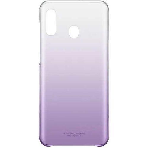 Чехол Samsung Galaxy A20 Gradation Cover фиолетовый фото
