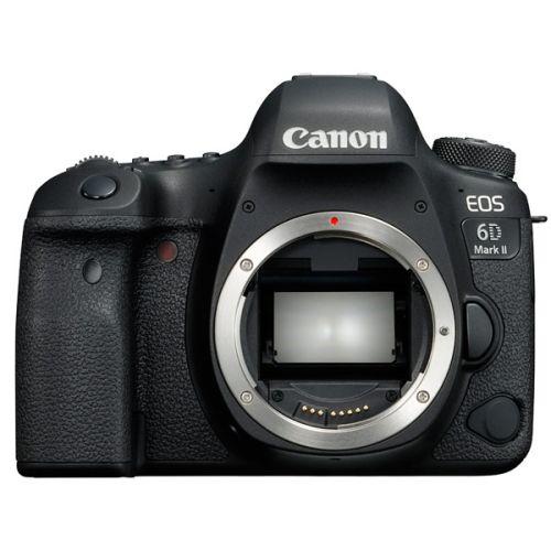 Зеркальный фотоаппарат Canon EOS 6D Mark II Body черный фото