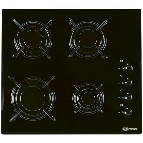 Встраиваемая газовая панель Kuchenchef KHK600S чёрный фото