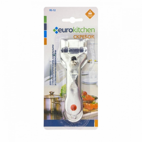 Скребок для чистки EURO Kitchen RS-12 серебристый фото