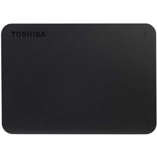 Внешний жёсткий диск Toshiba HDTB440EK3CA Canvio Basics чёрный черного цвета