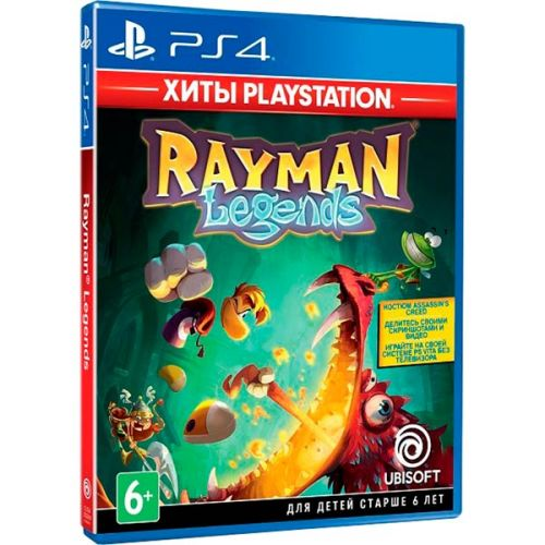Игра для Sony PS4 Rayman Legends, русская версия