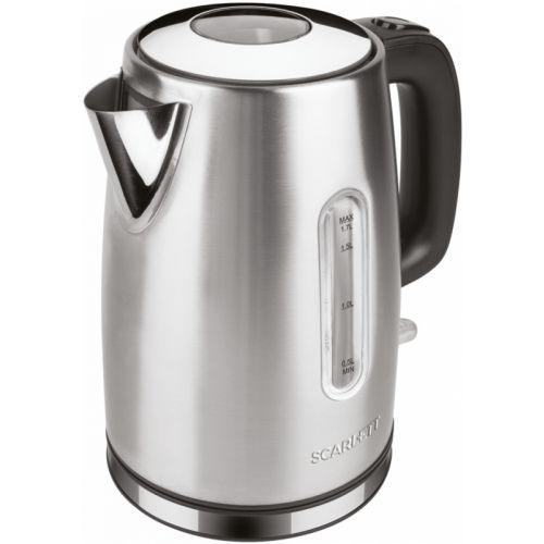 Электрический чайник Scarlett SC-EK21S68 серебристый фото