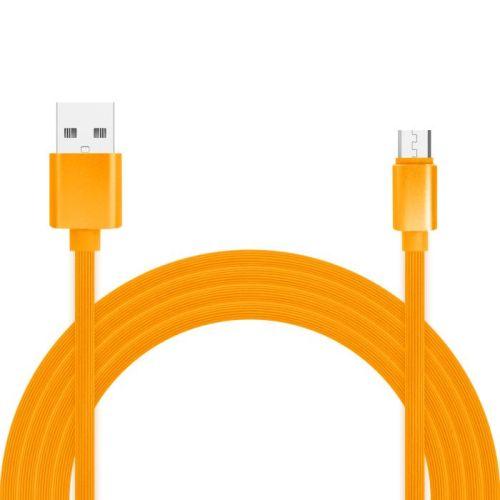 Кабель USB Jet.A JA-DC24 1m Orange фото