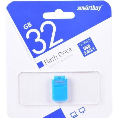 Флешка Smartbuy ART 32GB (SB32GBAB-3) синий синего цвета