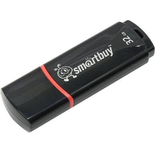 Флешка Smartbuy Crown USB 2.0 32GB (SB32GBCRW-K) чёрный черного цвета