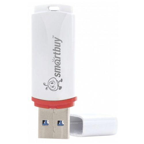 Флешка Smartbuy Crown USB 2.0 32GB (SB32GBCRW-W) белый белого цвета