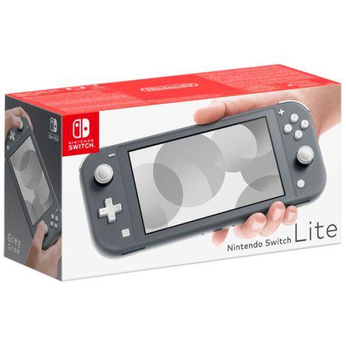 Игровая консоль Nintendo Switch Lite серый фото