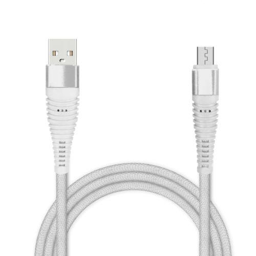 Кабель USB Jet.A JA-DC27 micro 1м белый фото
