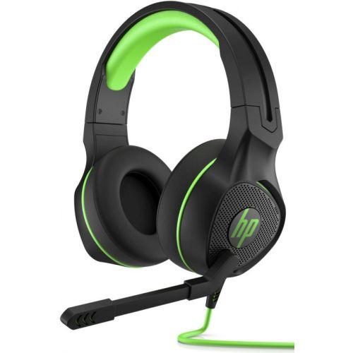 Компьютерная гарнитура HP Pavilion Gaming 400 чёрный/зеленый фото
