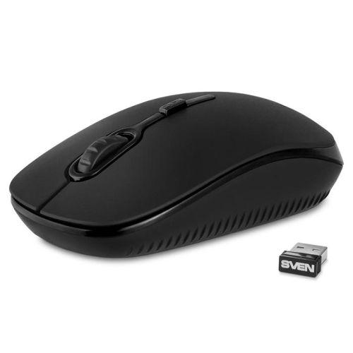 Мышь беспроводная Sven RX-510SW чёрная