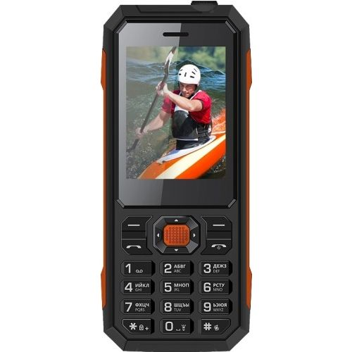 Мобильный телефон Vertex К208 чёрный фото