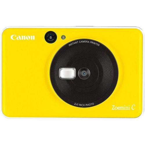 Фотокамера моментальной печати Canon ZOEMINI C CV123 BBY желтый желтого цвета