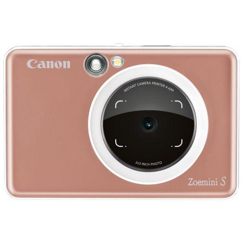 Фотокамера моментальной печати Canon Zoemini S розовое золото цвет розовое золото