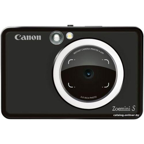 Фотокамера моментальной печати Canon Zoemini S чёрный черного цвета