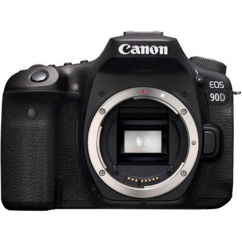 Зеркальный фотоаппарат Canon EOS 90D Body чёрный черного цвета