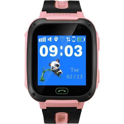 Смарт часы Canyon Canyon Smart Watch Kids HH1CNEKW21RR розовый pink