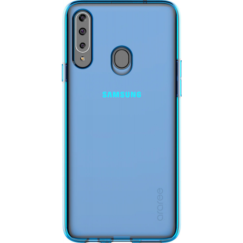 Чехол Samsung Galaxy A20s araree A cover (GP-FPA207KDALR) синий фото