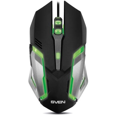 Мышь проводная Sven RX-G740 чёрный черного цвета