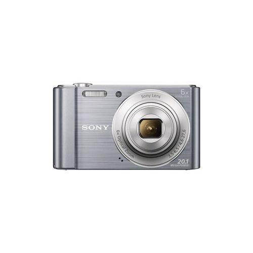 Цифровой фотоаппарат Sony DSC-W810 серебристый серебристого цвета