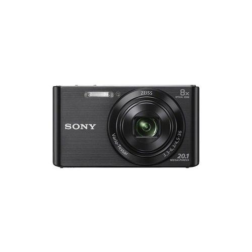 Цифровой фотоаппарат Sony DSC-W830 black чёрный черного цвета