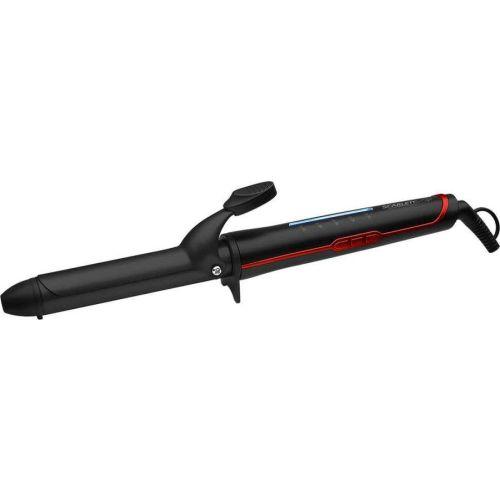 Щипцы для завивки Scarlett SC-HS60T35 чёрный/красный цвет чёрный/красный